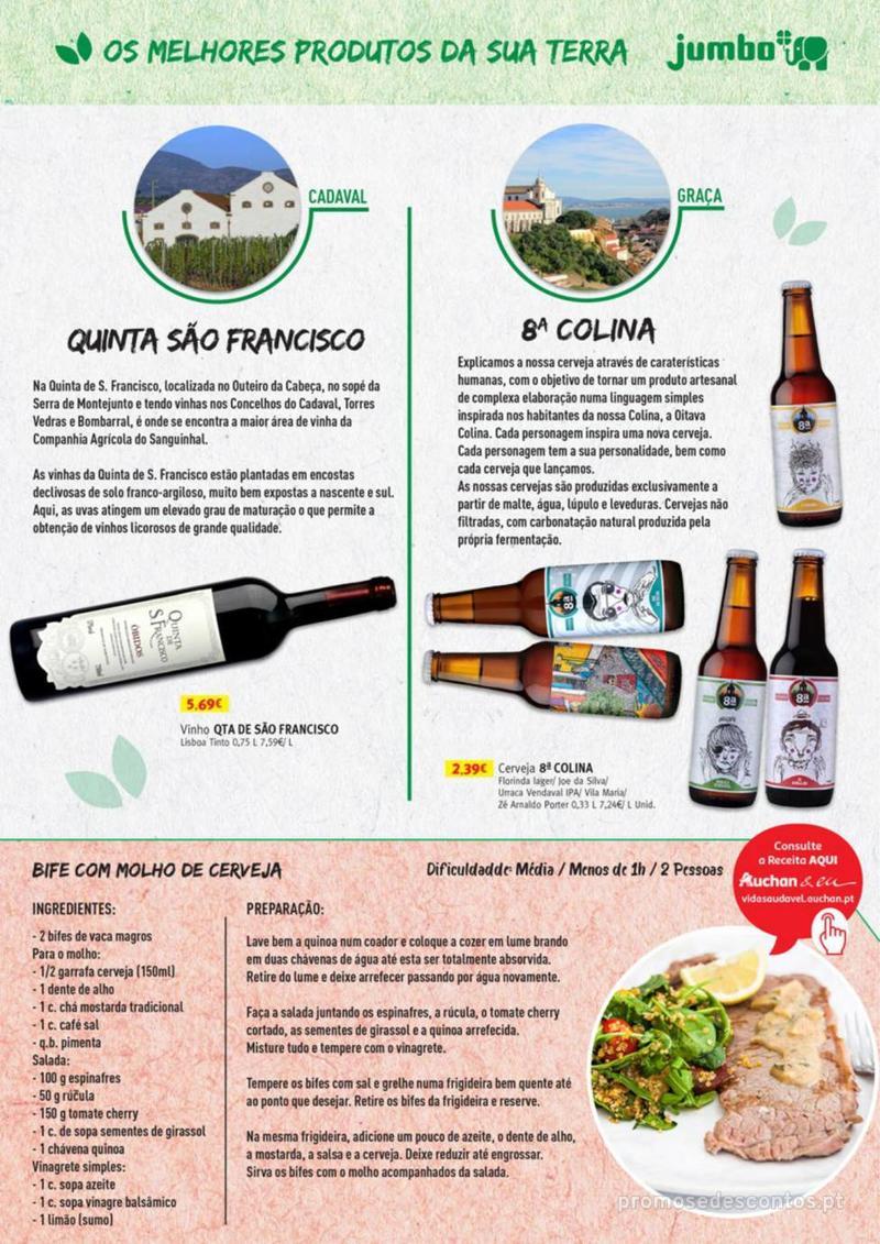 Folheto Jumbo Os melhores produtos da sua terra - 8 de Agosto a 31 de Agosto pág. 15