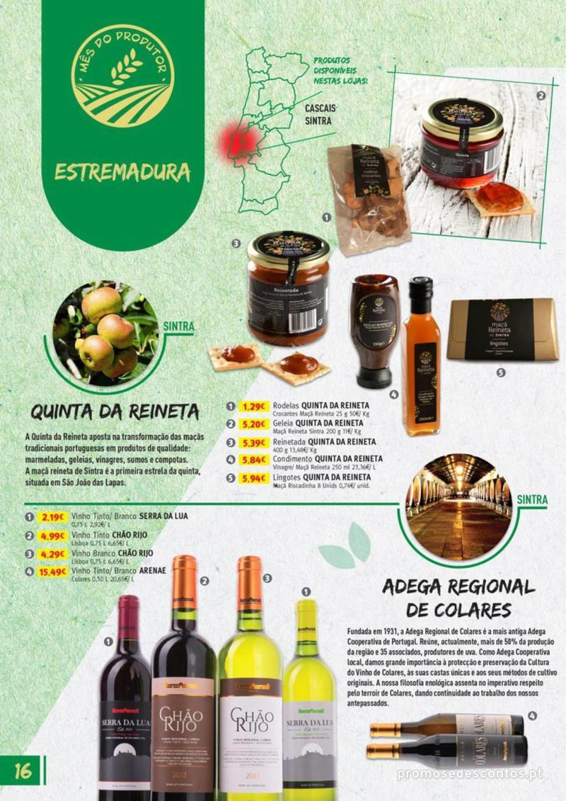 Folheto Jumbo Os melhores produtos da sua terra - 8 de Agosto a 31 de Agosto pág. 16