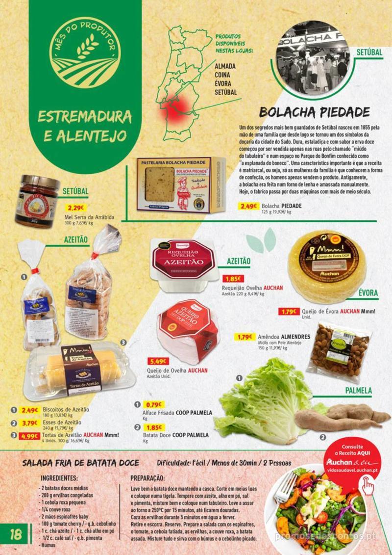Folheto Jumbo Os melhores produtos da sua terra - 8 de Agosto a 31 de Agosto pág. 18
