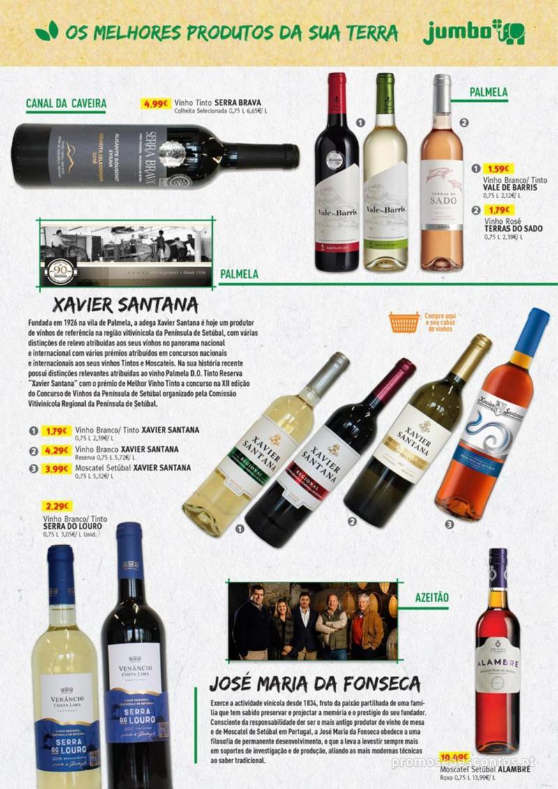 Folheto Jumbo Os melhores produtos da sua terra - 8 de Agosto a 31 de Agosto pág. 19