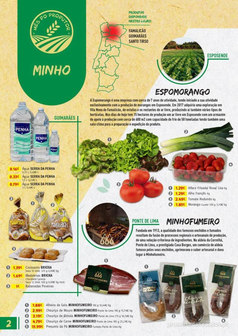 Folheto Jumbo Os melhores produtos da sua terra - 8 de Agosto a 31 de Agosto pág. 2