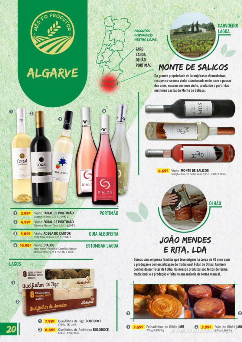 Folheto Jumbo Os melhores produtos da sua terra - 8 de Agosto a 31 de Agosto pág. 20