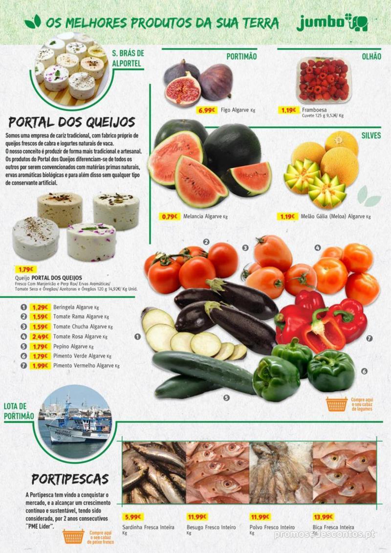 Folheto Jumbo Os melhores produtos da sua terra - 8 de Agosto a 31 de Agosto pág. 21