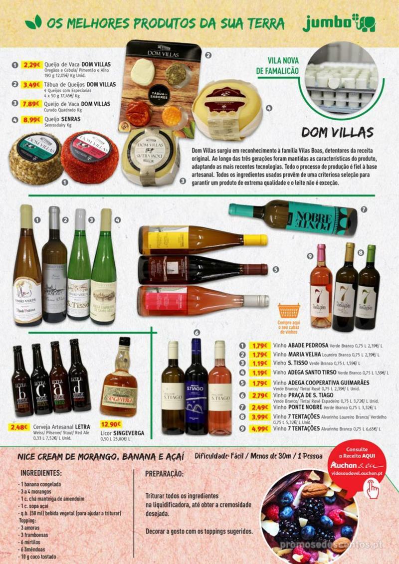 Folheto Jumbo Os melhores produtos da sua terra - 8 de Agosto a 31 de Agosto pág. 3