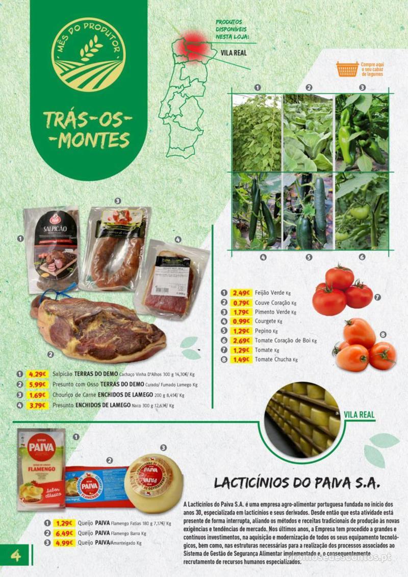 Folheto Jumbo Os melhores produtos da sua terra - 8 de Agosto a 31 de Agosto pág. 4