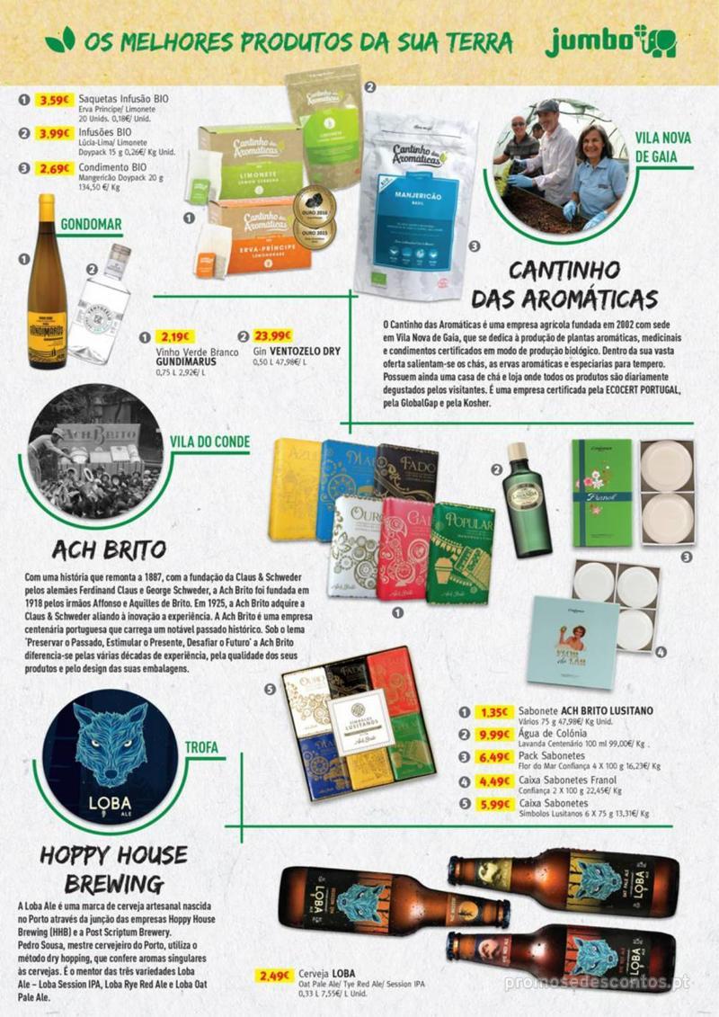 Folheto Jumbo Os melhores produtos da sua terra - 8 de Agosto a 31 de Agosto pág. 7