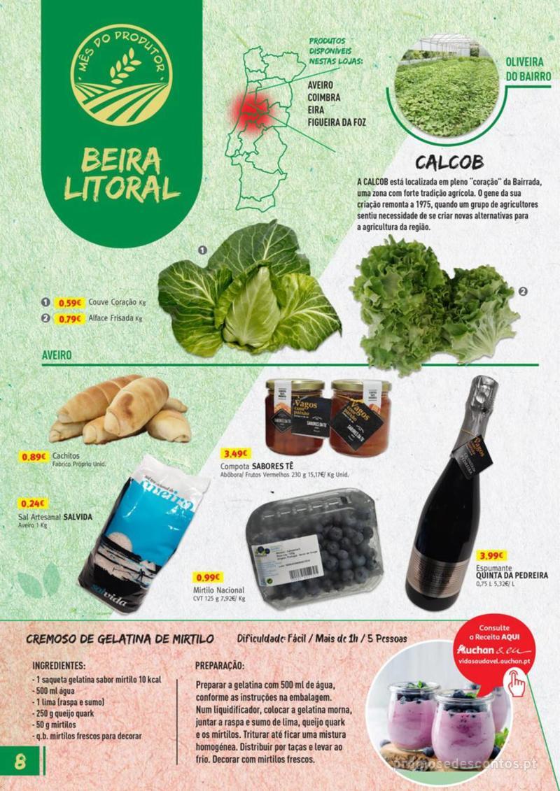 Folheto Jumbo Os melhores produtos da sua terra - 8 de Agosto a 31 de Agosto pág. 8