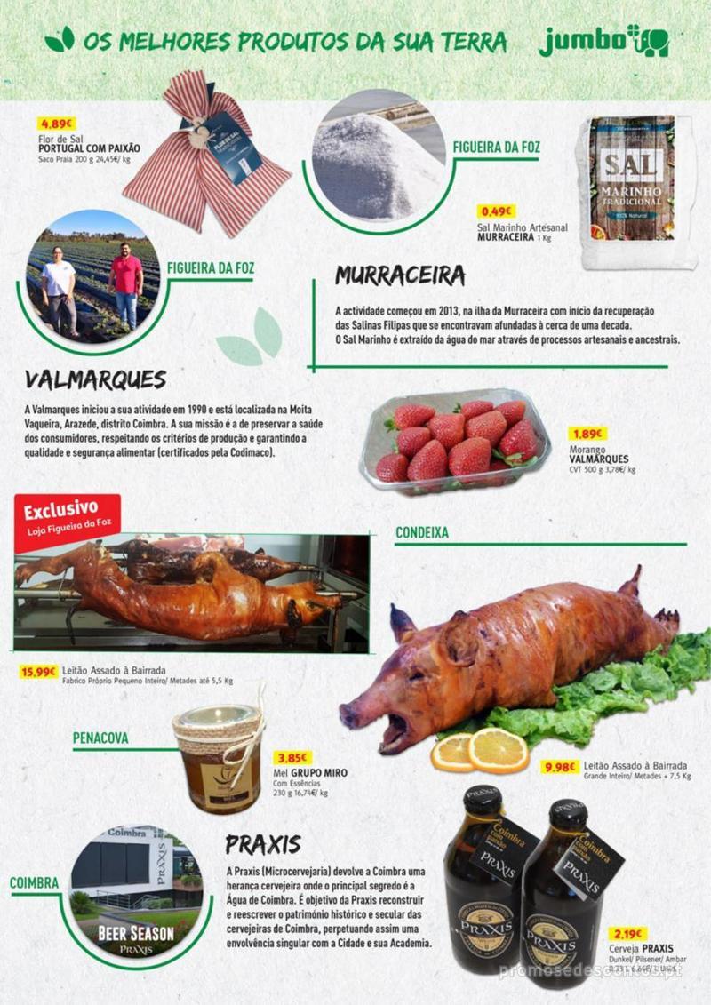 Folheto Jumbo Os melhores produtos da sua terra - 8 de Agosto a 31 de Agosto pág. 9