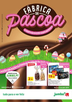 Fábrica de Chocolate - 2 de Abril a 21 de Abril