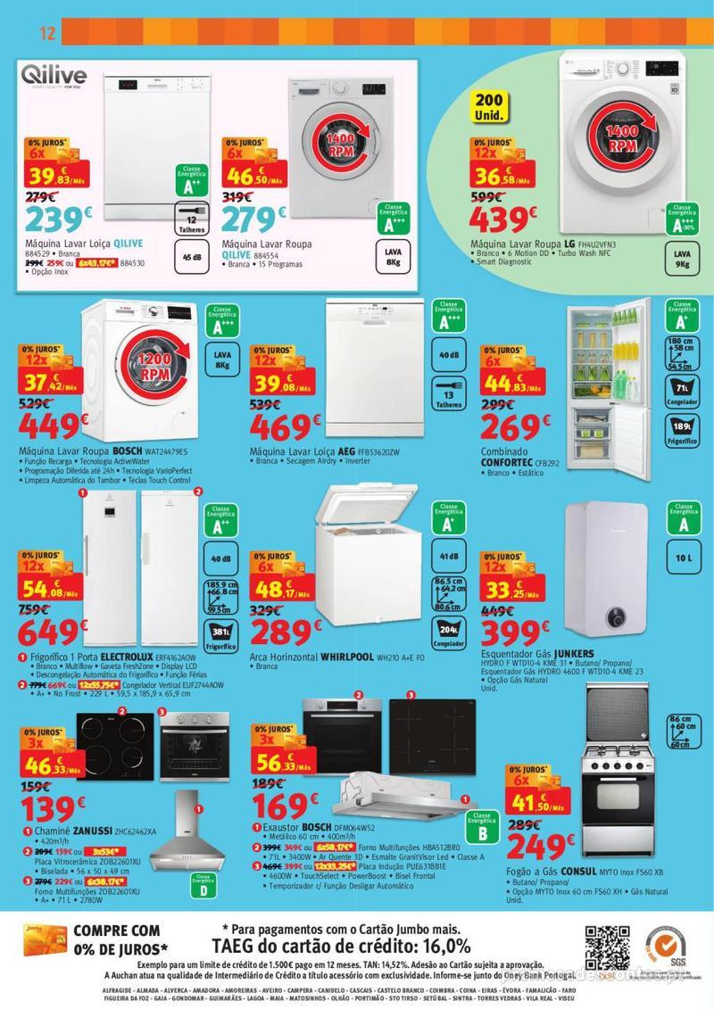 Folheto Jumbo BOX - A melhor tecnologia na festa das marcas - 7 de Maio a 2 de Junho - página 12