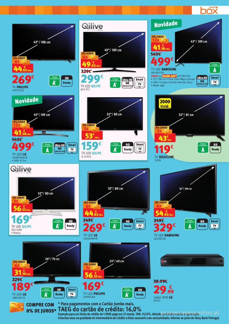 Folheto Jumbo BOX - A melhor tecnologia na festa das marcas - 7 de Maio a 2 de Junho - página 3