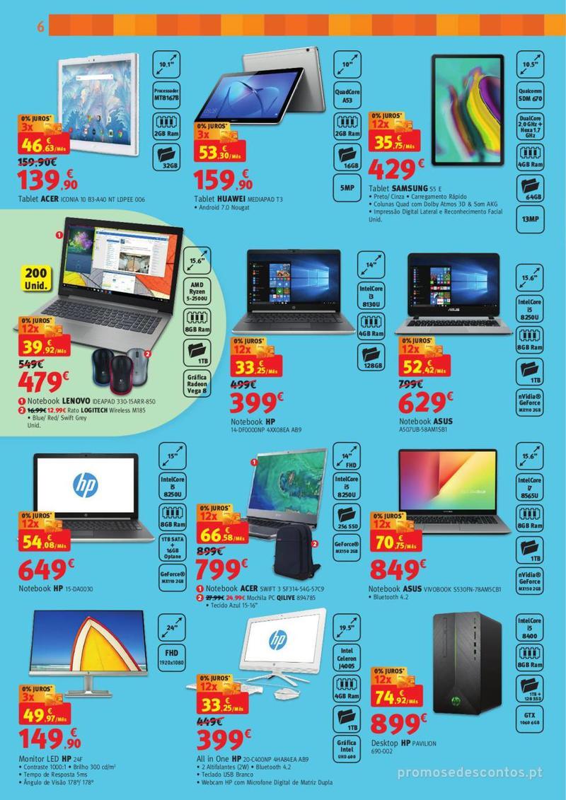 Folheto Jumbo BOX - A melhor tecnologia na festa das marcas - 7 de Maio a 2 de Junho - página 6