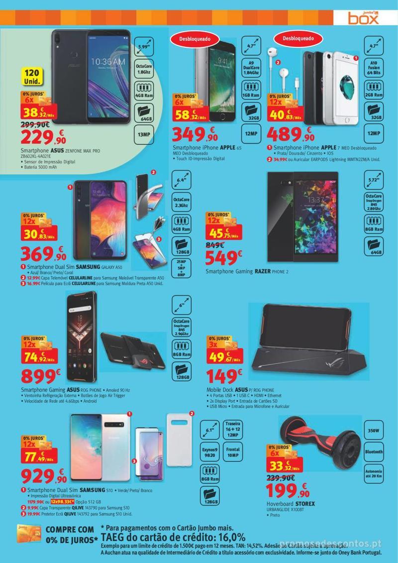 Folheto Jumbo BOX - A melhor tecnologia na festa das marcas - 7 de Maio a 2 de Junho - página 9