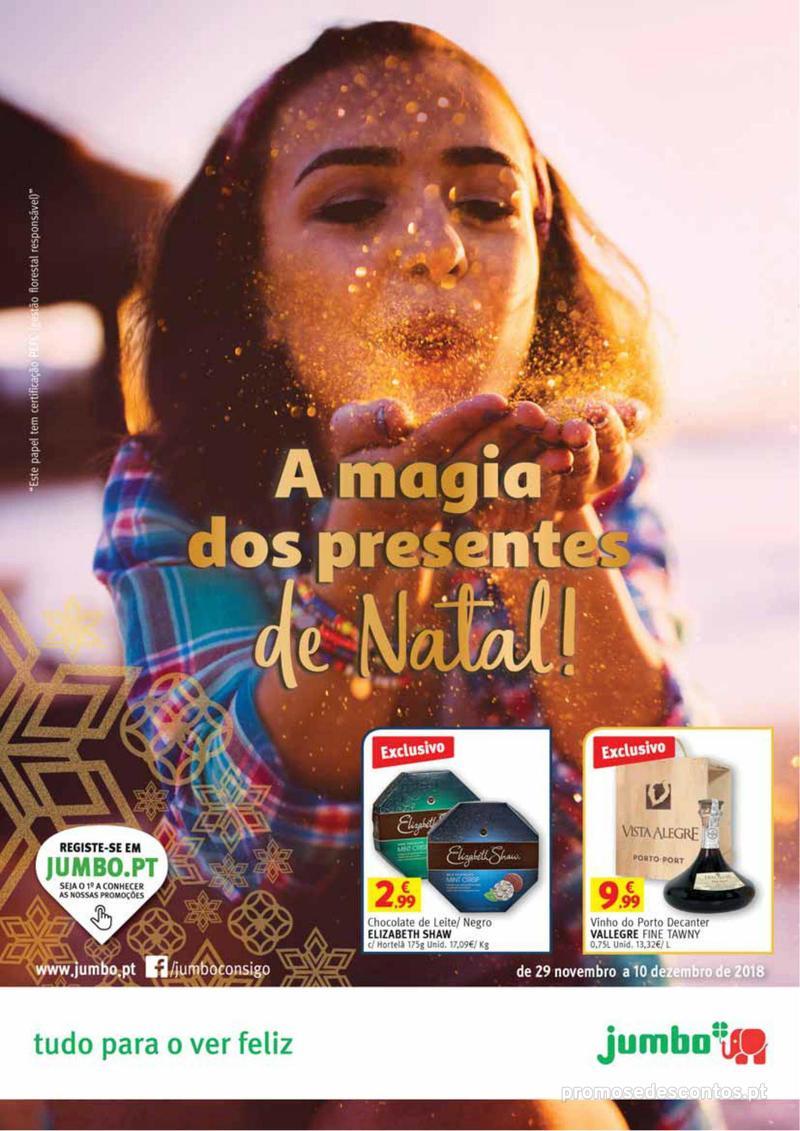 Folheto Jumbo A magia dos presentes de Natal! - 29 de Novembro a 10 de Dezembro - página 1