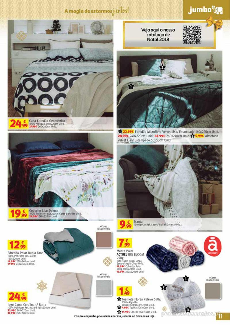 Folheto Jumbo A magia dos presentes de Natal! - 29 de Novembro a 10 de Dezembro - página 11