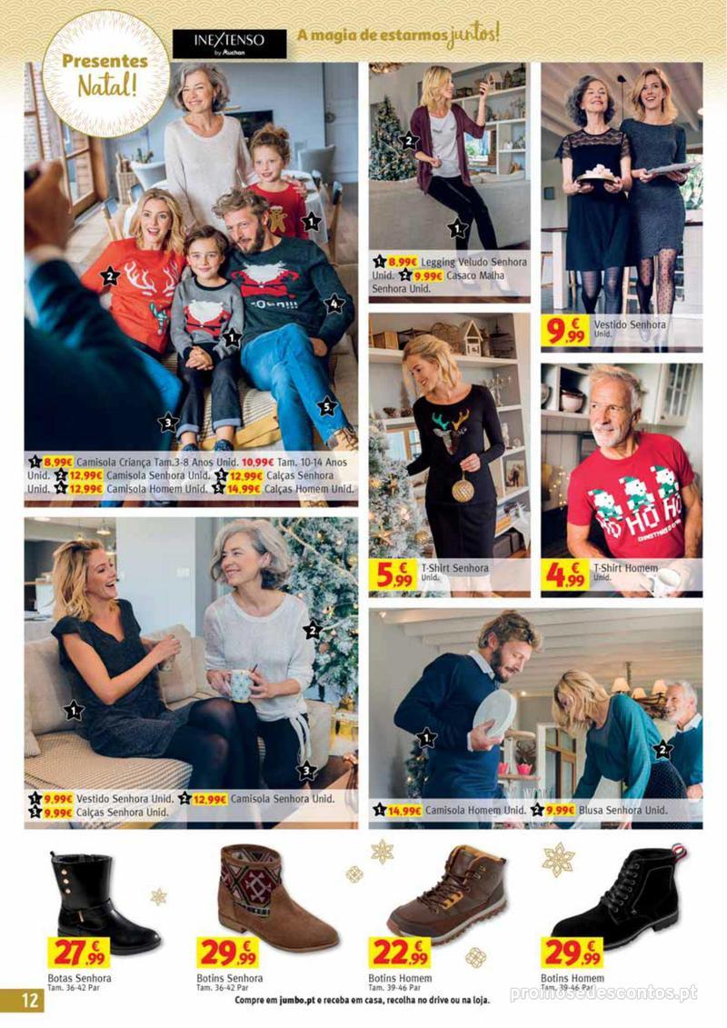 Folheto Jumbo A magia dos presentes de Natal! - 29 de Novembro a 10 de Dezembro - página 12