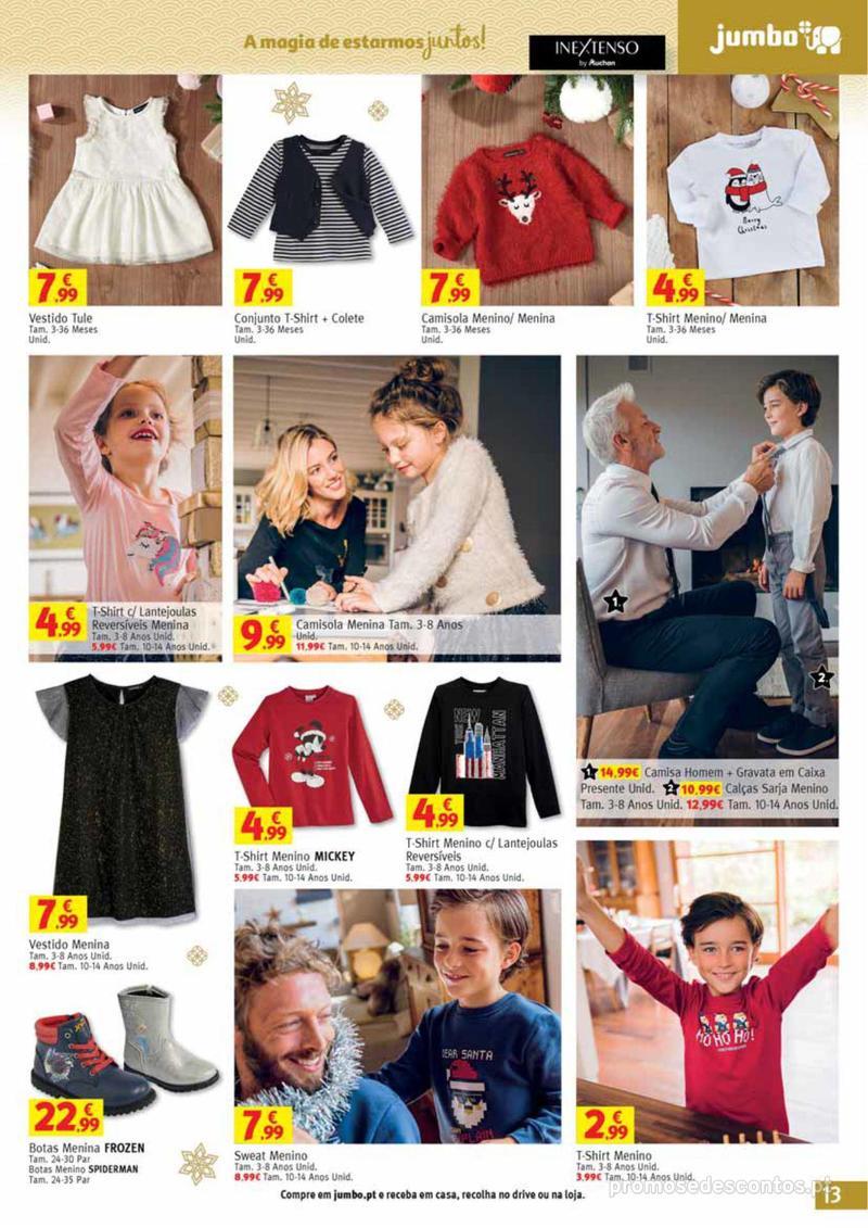 Folheto Jumbo A magia dos presentes de Natal! - 29 de Novembro a 10 de Dezembro - página 13