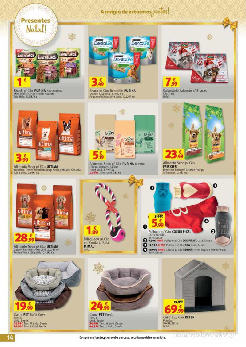Folheto Jumbo A magia dos presentes de Natal! - 29 de Novembro a 10 de Dezembro - página 14