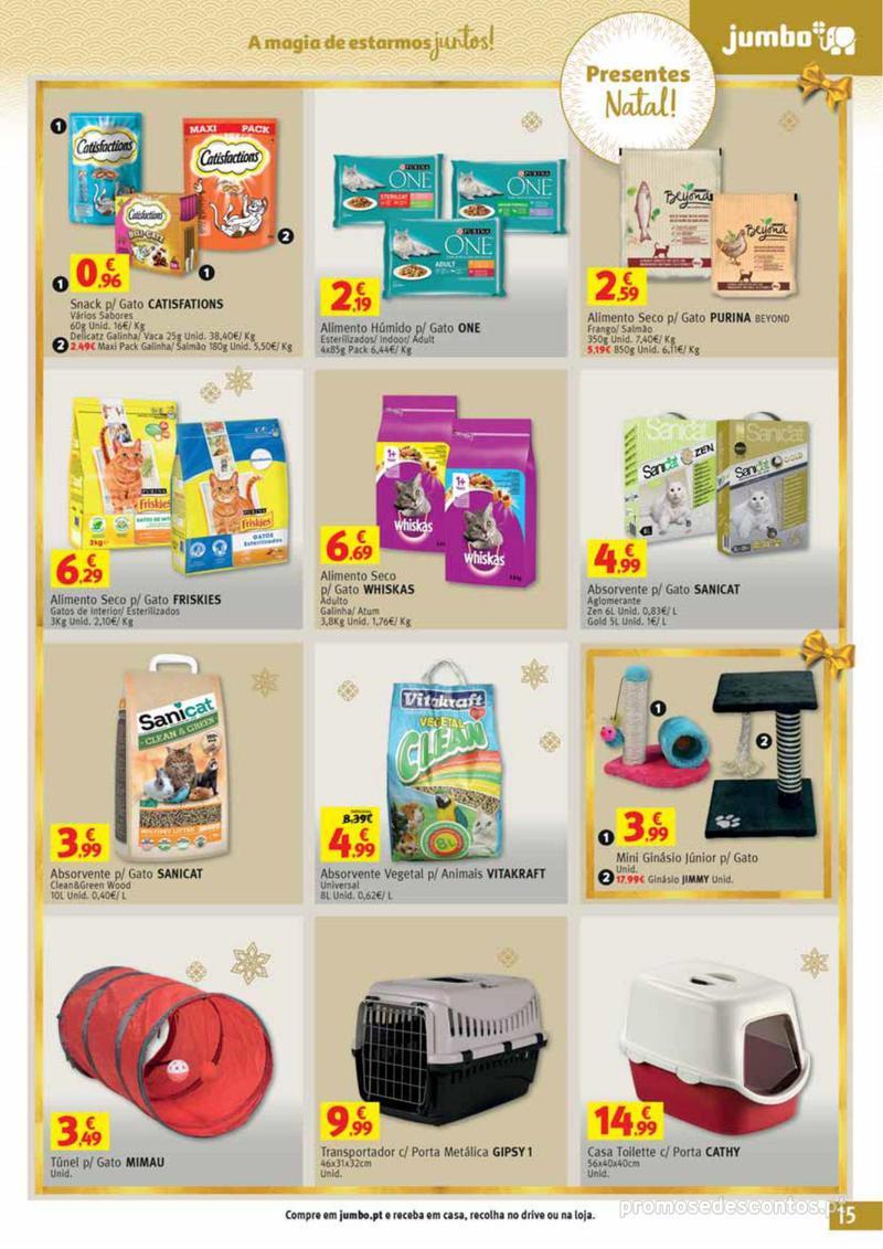 Folheto Jumbo A magia dos presentes de Natal! - 29 de Novembro a 10 de Dezembro - página 15