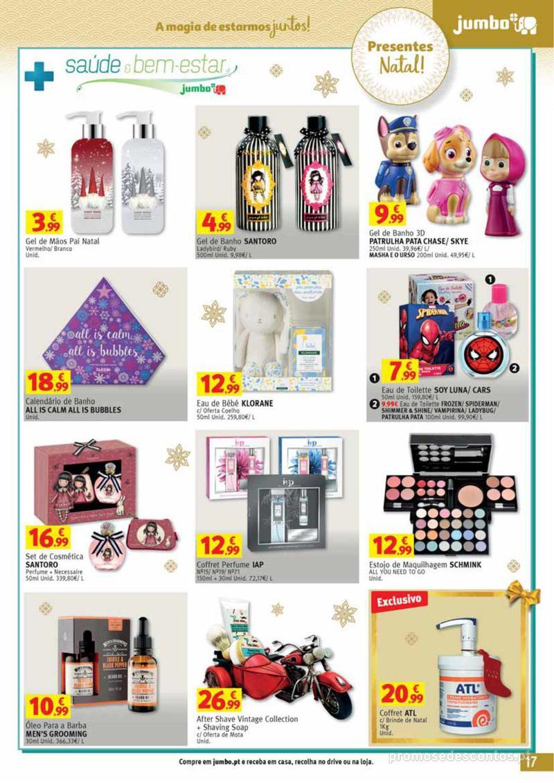 Folheto Jumbo A magia dos presentes de Natal! - 29 de Novembro a 10 de Dezembro - página 17