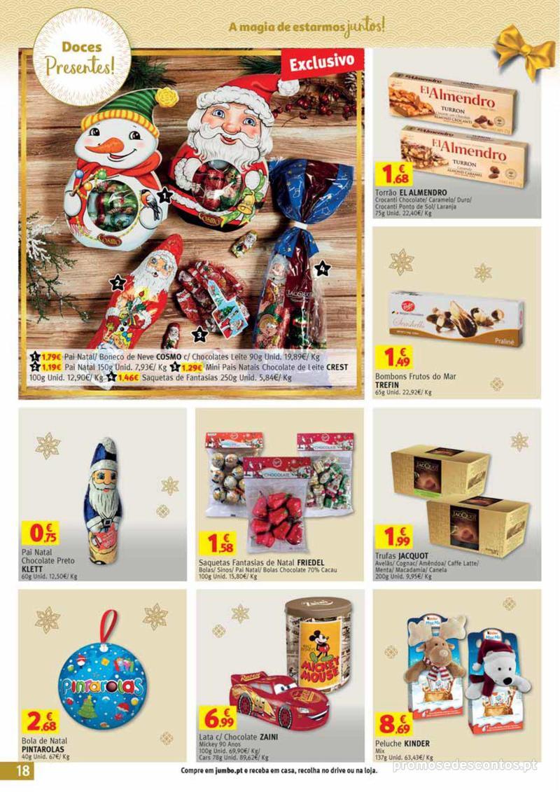 Folheto Jumbo A magia dos presentes de Natal! - 29 de Novembro a 10 de Dezembro - página 18