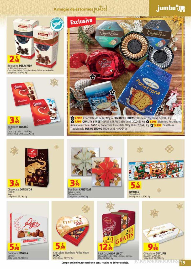 Folheto Jumbo A magia dos presentes de Natal! - 29 de Novembro a 10 de Dezembro - página 19
