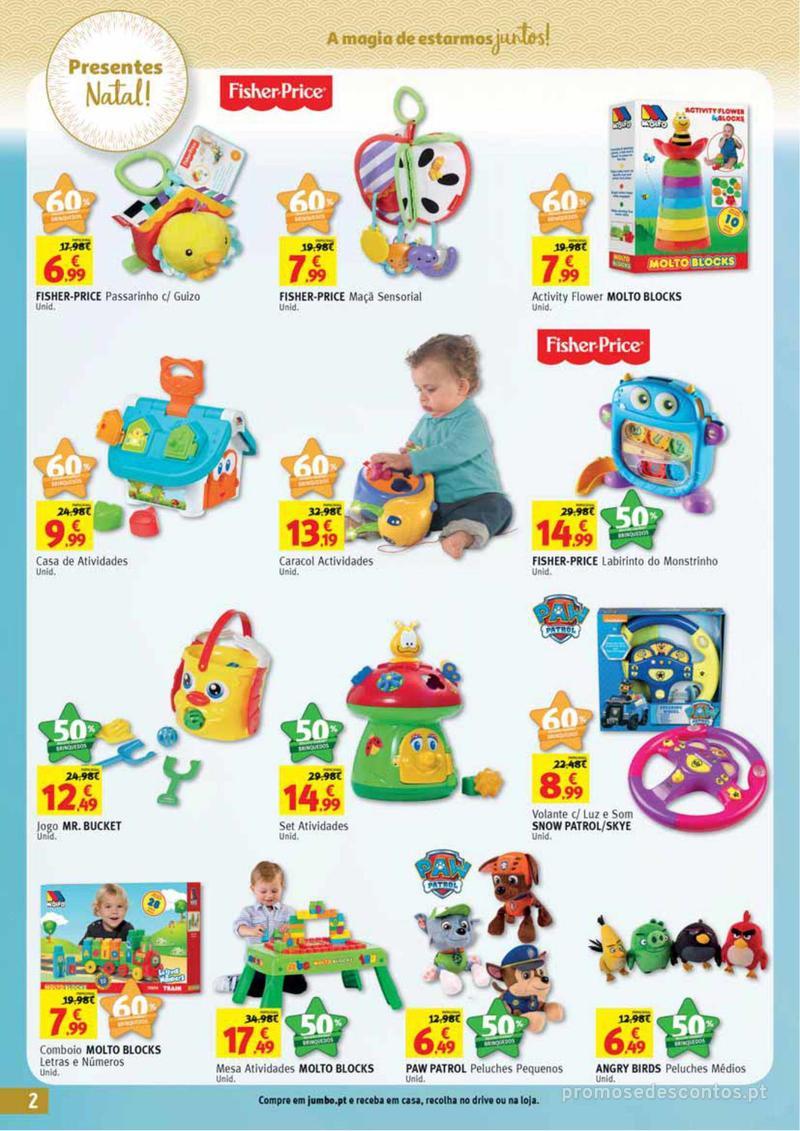 Folheto Jumbo A magia dos presentes de Natal! - 29 de Novembro a 10 de Dezembro - página 2