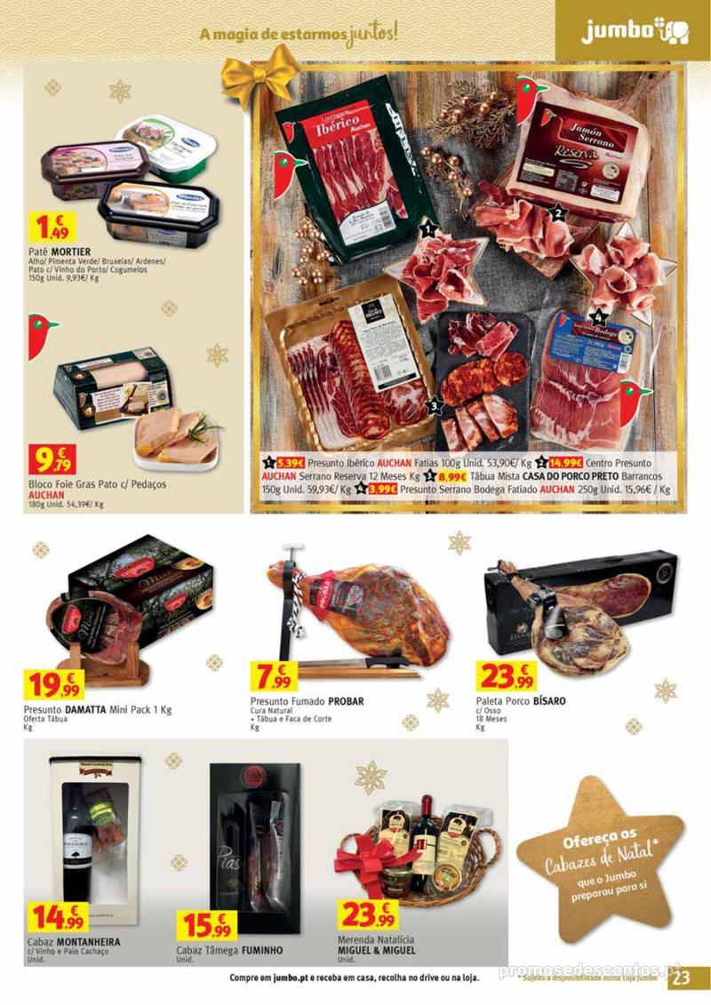 Folheto Jumbo A magia dos presentes de Natal! - 29 de Novembro a 10 de Dezembro - página 23