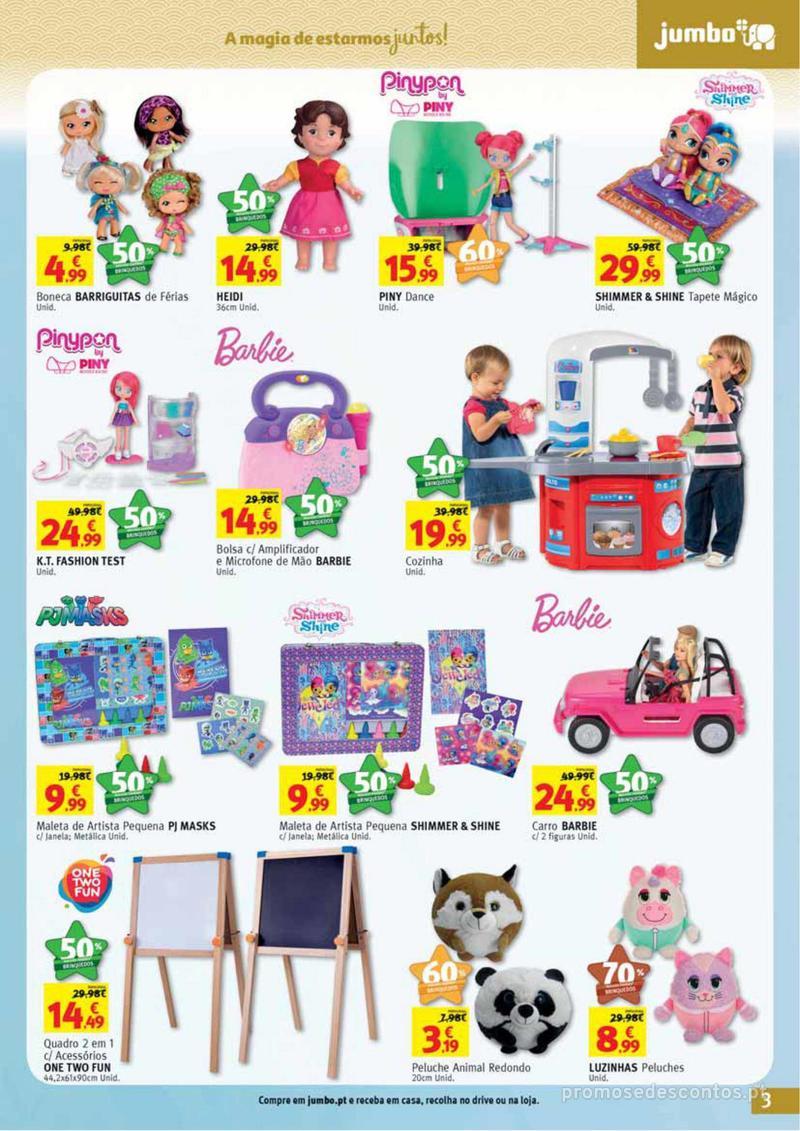 Folheto Jumbo A magia dos presentes de Natal! - 29 de Novembro a 10 de Dezembro - página 3