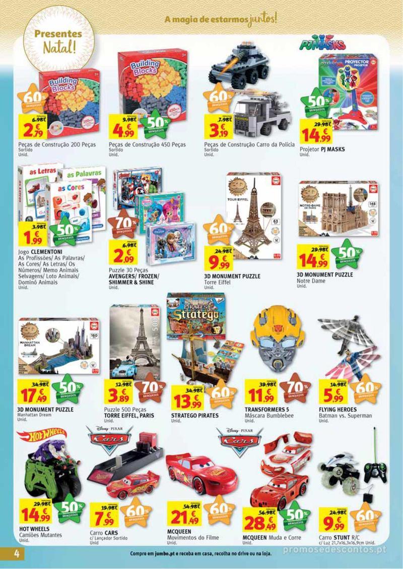 Folheto Jumbo A magia dos presentes de Natal! - 29 de Novembro a 10 de Dezembro - página 4