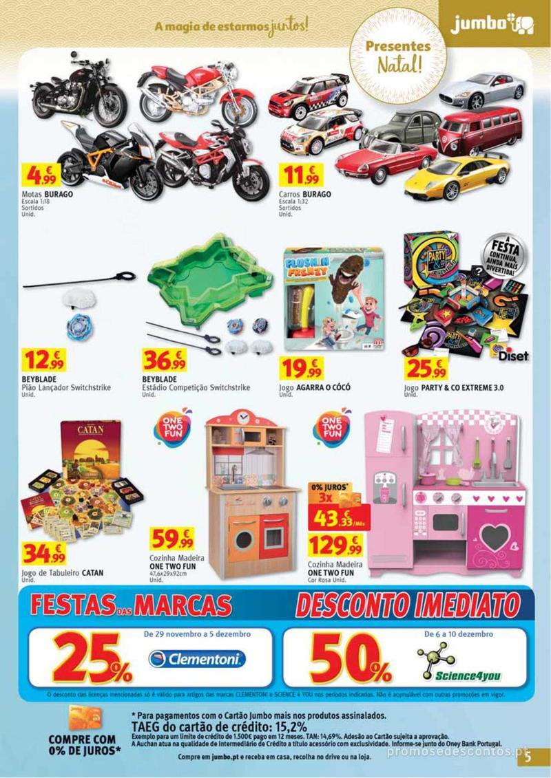 Folheto Jumbo A magia dos presentes de Natal! - 29 de Novembro a 10 de Dezembro - página 5