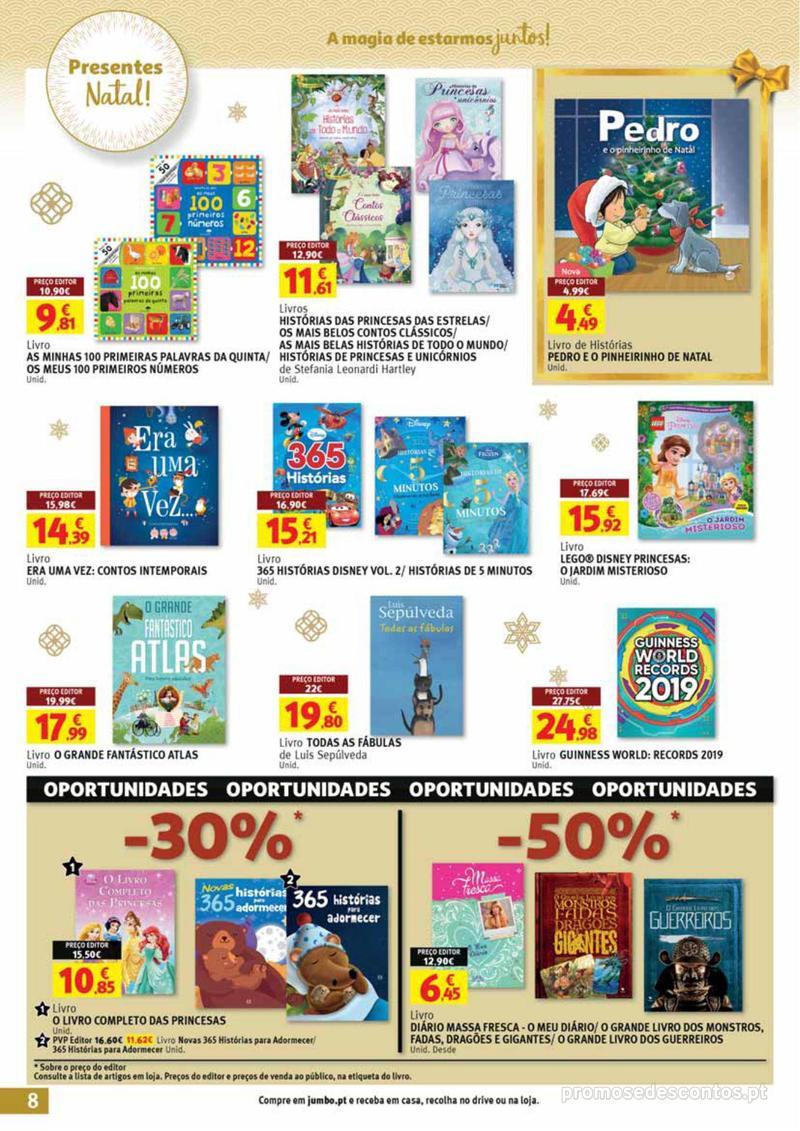 Folheto Jumbo A magia dos presentes de Natal! - 29 de Novembro a 10 de Dezembro - página 8