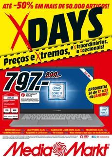 X Days - 17 de Janeiro a 23 de Janeiro