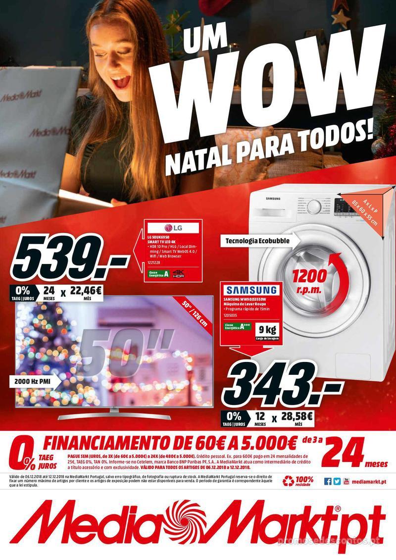 Folheto Media Markt Um WOW Natal para todos - 6 de Dezembro a 12 de Dezembro - página 7