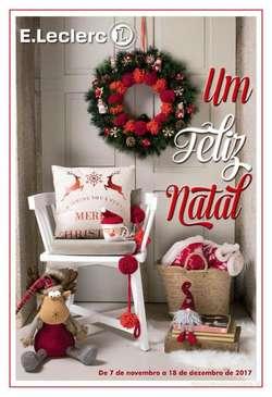 Antevisão Folheto E LECLERC Natal de 25 novembro a 14